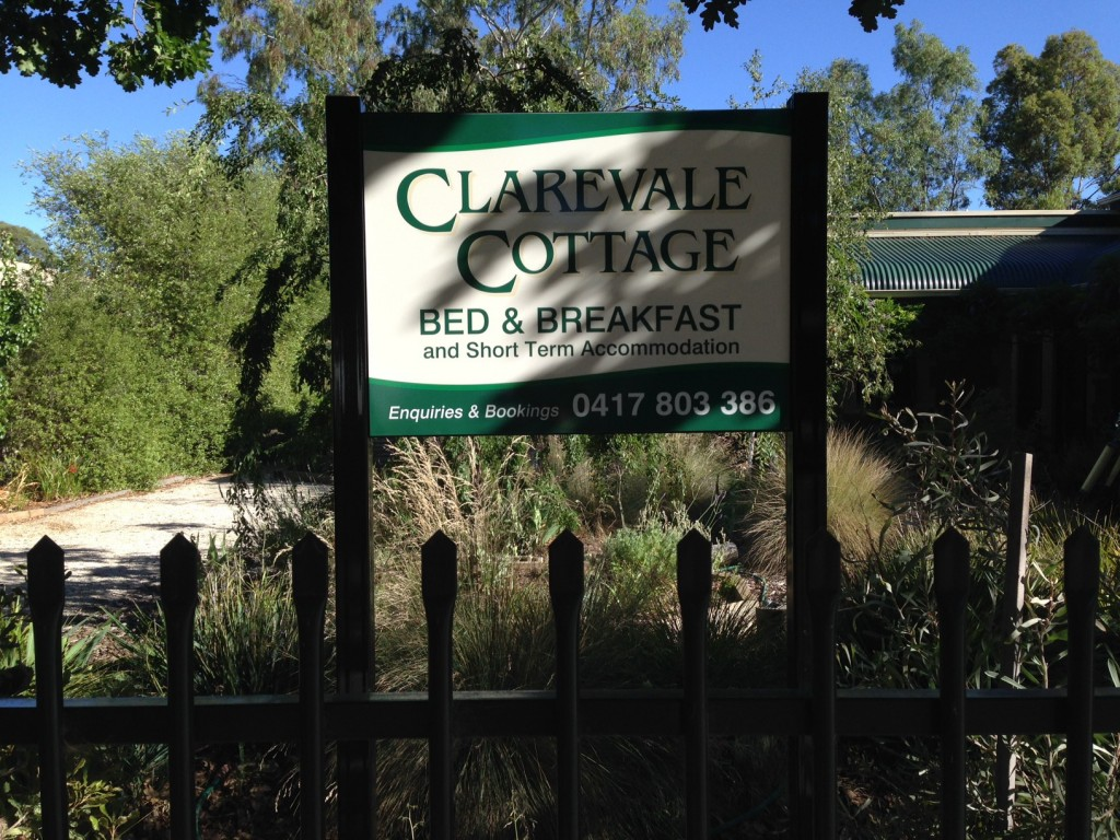 Clarevale Cottage Sign