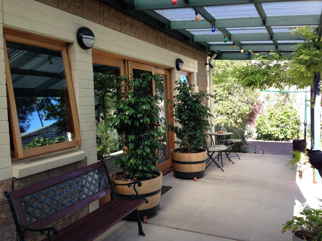 Back verandah